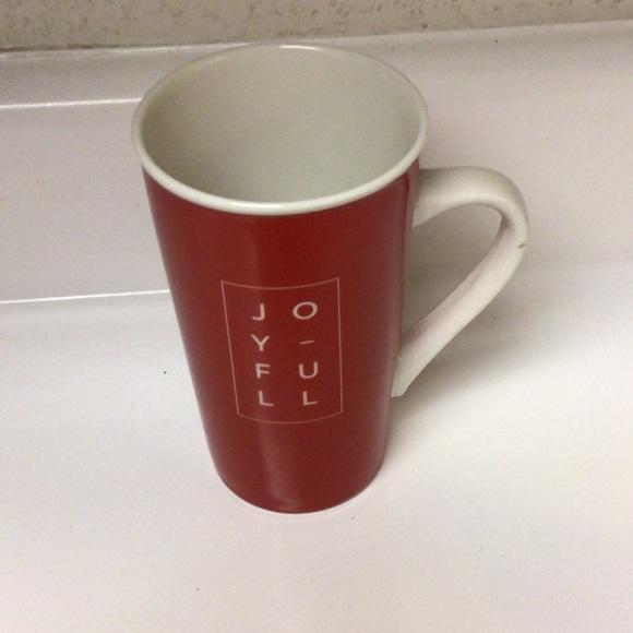 Starbucks Joyful Christmas holiday tall mug cup